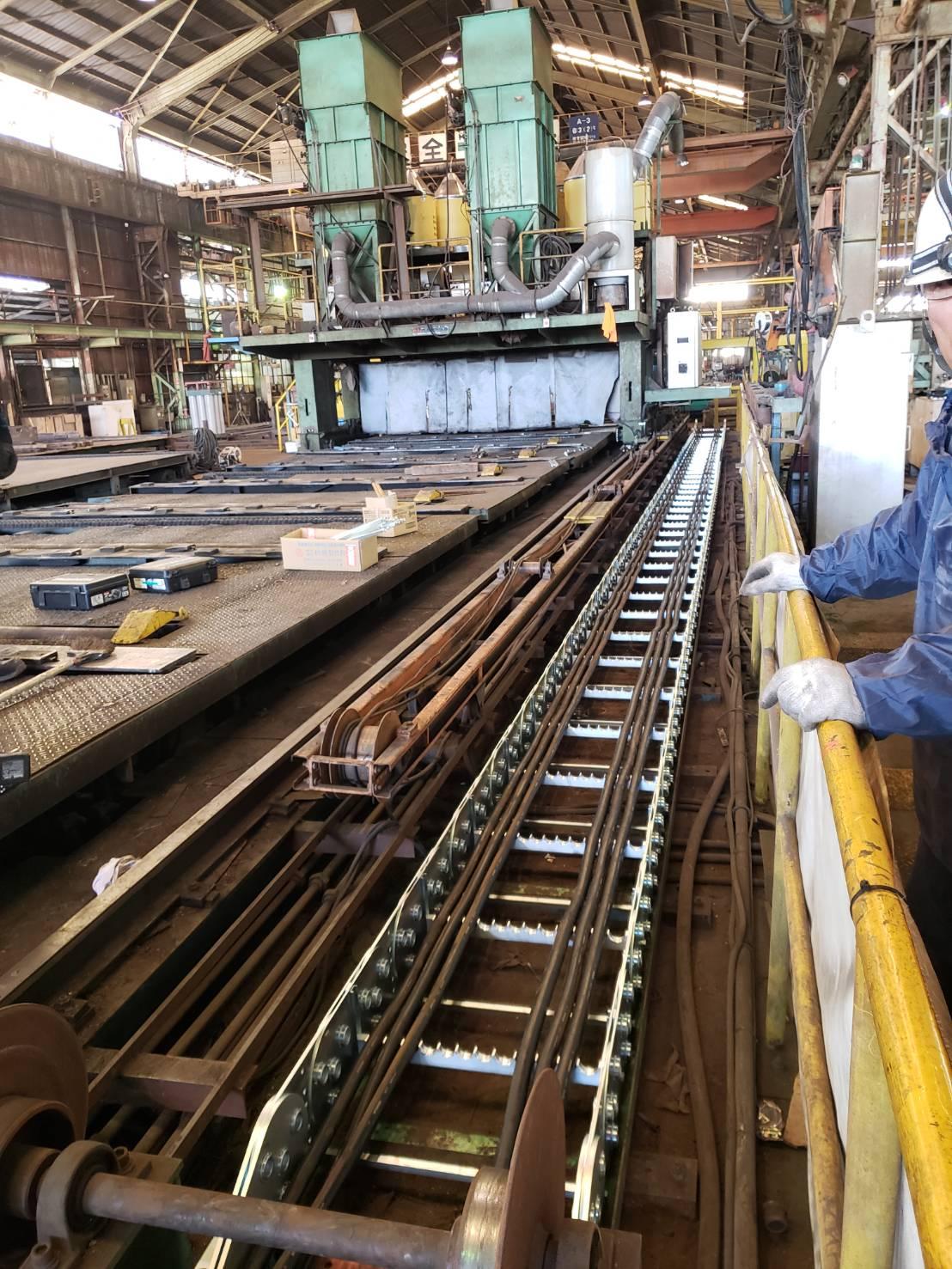 全長約80メートルのケーブルベアー